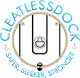 CleatlessDock The Safe & Easy Solution Mobile Logo